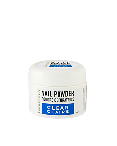 clear powder 1 oz