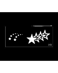 Pochoir pour le Corps Étoiles