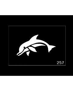 Tattoo Stencil Dolphin