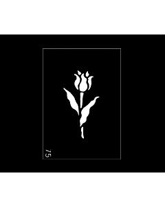 Pochoir Tulipe