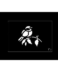 pochoir tattoo oiseau