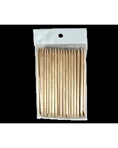 long  wood cuticle pusher