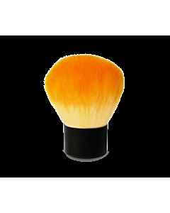 Pinceau Époussette Court Orange