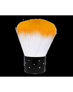 Short Dust Brush Orange / White Diamond