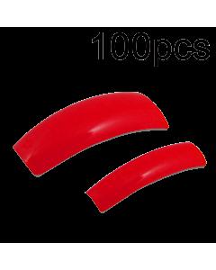Prothèse Française Unie Rouge Pompier (100 pcs) - vue 1
