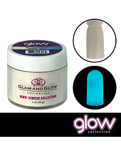 Glam and Glits Glow Acrylic phosphorescent powder 2026 En-light-ened