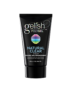 Gelish PolyGel Natural Clear Sheer 2oz