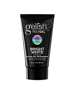 Gelish PolyGel Bright White Opaque 60g