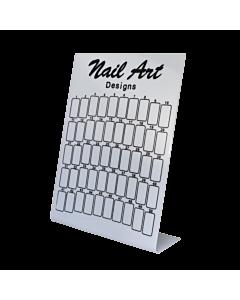 Nail Design Display Board (50 spots) - Black Print