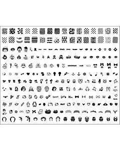 Plaque de stamping modèle H