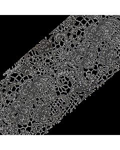 Decorative Transfer Paper Black Flower/Lace 009