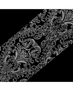 Decorative Transfer Paper Black Flower/Tribal 010