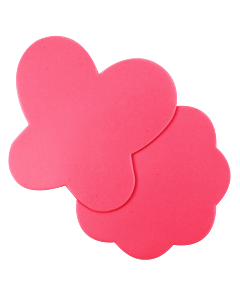 PetitTapis de Silicone pour Nail Art Rose (2pcs)