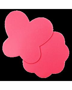 Small Pink Silicone Nail Art Mat (2pcs)