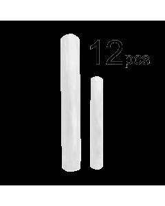 Prothèse Extra Longue Stiletto Naturelle (12 pcs)