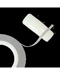 Ruban Décoratif Autoadhésif Glitter Argent 2mm