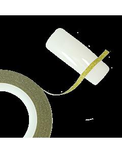 Ruban glitter or 2mm pour décoration