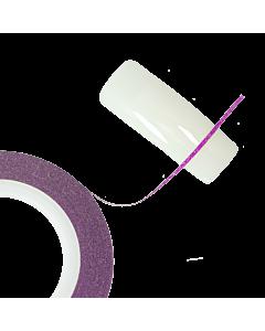 Ruban Autoadhésif Glitter rose 0.7mm