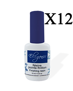 Finishing Resin (15ml/.05oz) Elegance (12 units)