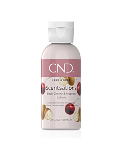 CND Scentsations Lotion - Black Cherry and Nutmeg - 2 oz
