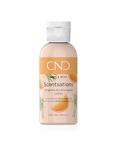 CND Scentsations Lotion - Tangerine and Lemongrass - 2 oz