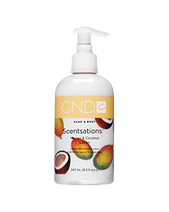 CND Scentsations Lotion - Mango and Coconut - 8.3 oz