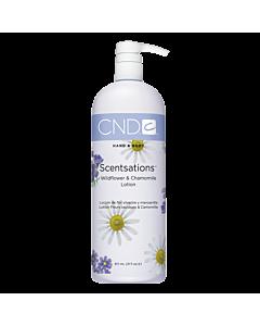CND Scentsations Lotion Fleur Sauvage et Camomille 31 oz