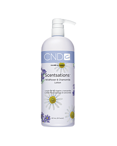 CND Scentsations Lotion - Wildflower and Chamomile - 31 oz