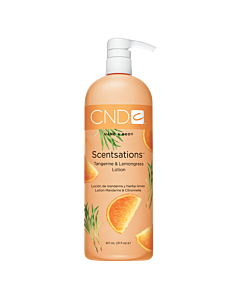 CND Scentsations Lotion - Tangerine and Lemongrass - 31 oz