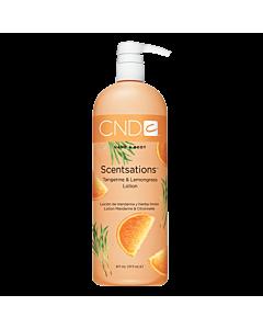 CND Scentsations Lotion Tangerine et Lemongrass 31 oz