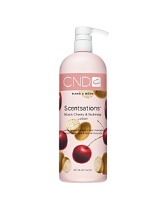 CND Scentsations Lotion - Black Cherry and Nutmeg - 31 oz