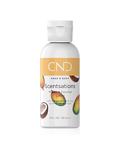 CND Scentsations Lotion - Mango and Coconut - 2 oz