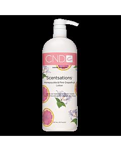 CND Scentsations Lotion Chèvrefeuille et Pamplemousse 31 oz
