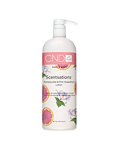 CND Scentsations Lotion - Honeysuckle and Pink Grapefruit - 31 oz