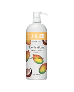 CND Scentsations Lotion - Mango and Coconut - 31 oz