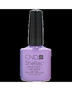 shellac nails Lilac Longing