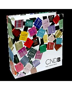 CND Shellac Nail Color Tip Book