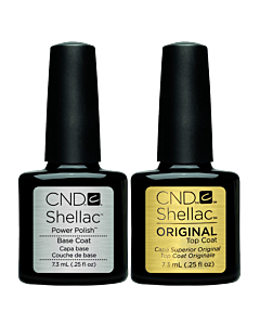 CND Shellac top and base combo 7.3 ml