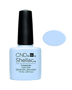 Shellac Creekside blue