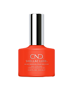 Shellac Luxe Gel UV Electric Orange
