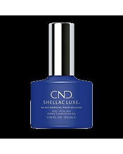 Shellac Luxe Gel UV Blue Eyeshadow
