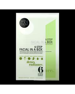 Skin Forum 6 Step Facial in a Box - Detox + Radiance