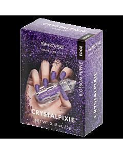 Swarovski Pierres Crystalpixie Edge Blossom Purple