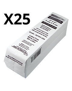 2X2 Wipes AMD-Ritmed 4 folds 25 packs of 200pcs