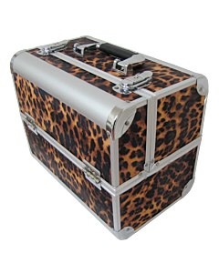 Leopard Nail Polish Case