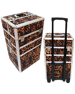 Leopard Nail polish Trolley