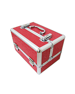 Nail polish case red