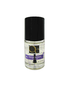 Top coat ongles d'Or