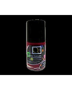 red Matte nail polish bordeau