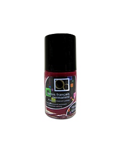 Vernis mat rouge Bordeaux